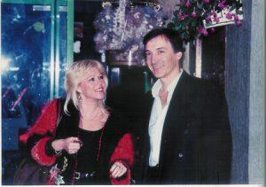 Erick ROMEAS en compagnie de sa femme Marie France